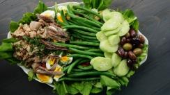 Cum se face salata Nicoise, filmare cu google glass